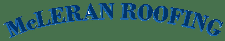 Mcleran Roofing Logo Blue