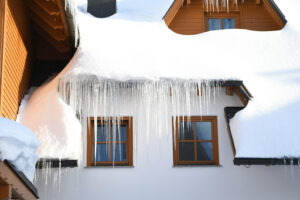 icicles on house