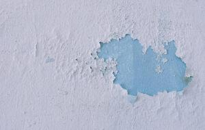 peeling wall paint